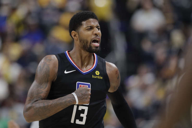 Clippers' Paul George Provides Cryptic Response to Being Booed by Pacers Fans