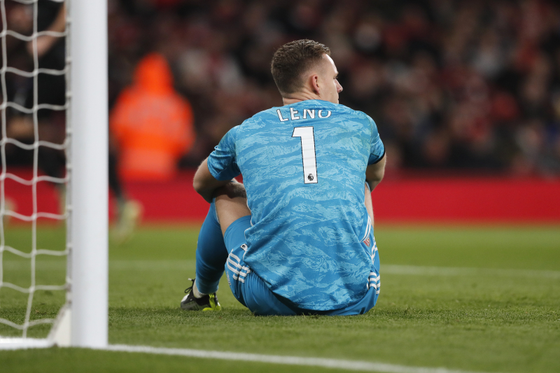 Bernd Leno Defends Arsenal After Poor Form: 'Not Like Everyone Was Not Trying'
