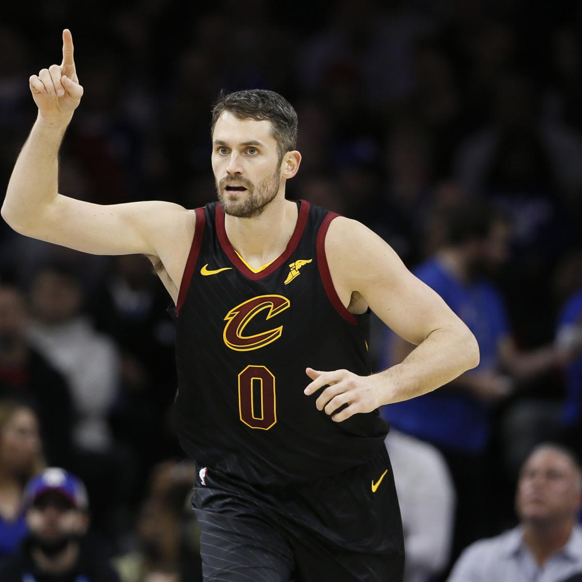 Kevin Love Trade Rumors: Cavaliers PF 'Would Prefer' Deal to Trail Blazers