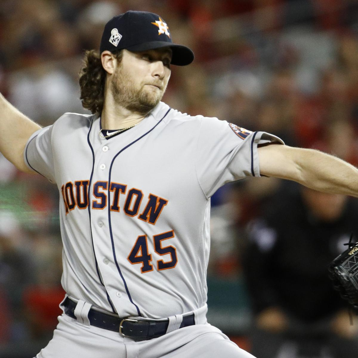 Gerrit Cole Rumors: Astros Believed to 1 of 2 Mystery Teams Pursuing Free Agent
