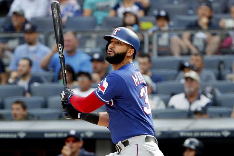 White Sox Trade for OF Nomar Maraza; Rangers Get Prospect Walker Steele