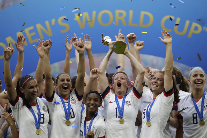 USA Women's Soccer Team Named Time's 2019 Athlete of the Year