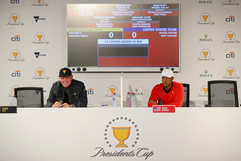 Presidents Cup 2019: Predicting Scores and Standings for Day 1 Pairings