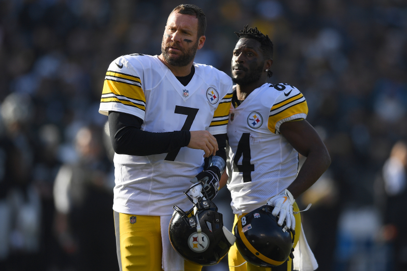 Antonio Brown Rips Ben Roethlisberger: 'Was Done with That Loser Long Time Ago'
