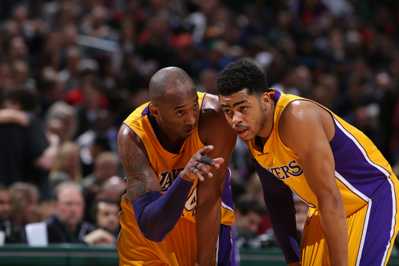 D'Angelo Russell Reveals Why He Regrets Ignoring Kobe Bryant's Advice on Lakers