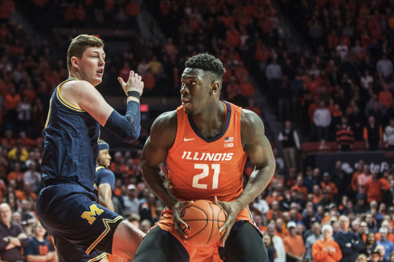 No. 5 Michigan Upset by Unranked Illinois 71-62