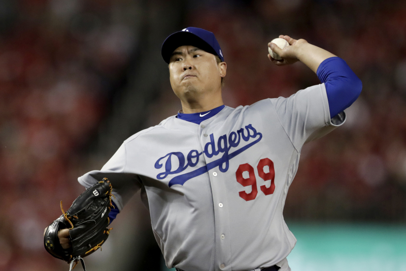 MLB Rumors: Dodgers Free Agent Hyun-Jin Ryu Drawing Interest from Cardinals