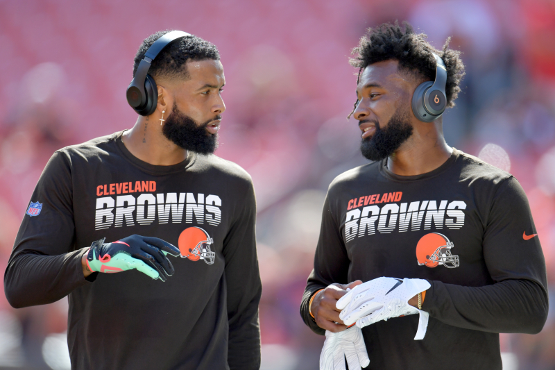 Browns' Jarvis Landry on Odell Beckham Jr. Rumors: 'I Know He Wants to Be Here'