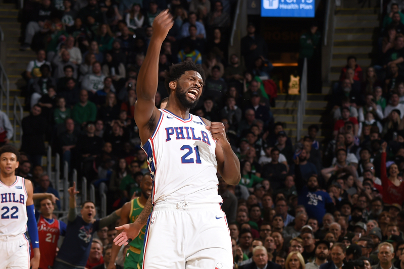 Joel Embiid Making It Tough for Critics to Sound off