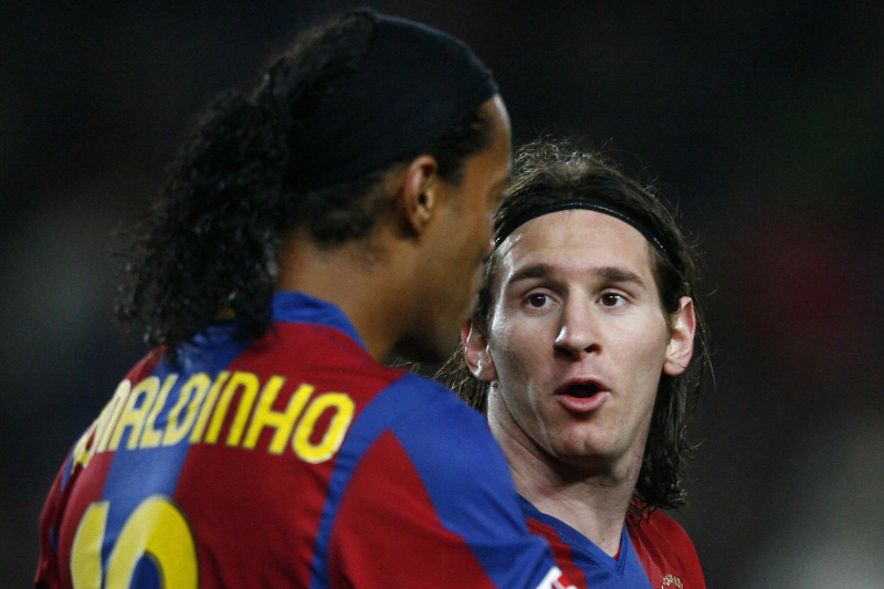 Ronaldinho Says Lionel Messi Is 'Best in His Time' but Can't Say 'The Best Ever'