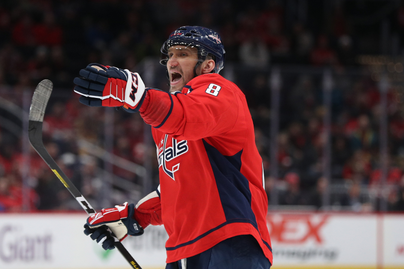 Alexander Ovechkin Expected to End Career with Capitals, Owner Ted Leonsis Says