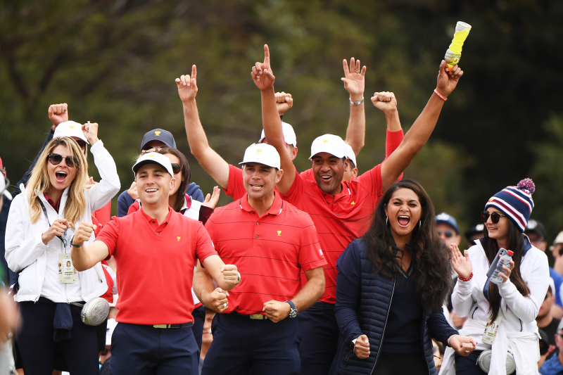United States Rallies from 2-Point Deficit to Win 2019 Presidents Cup
