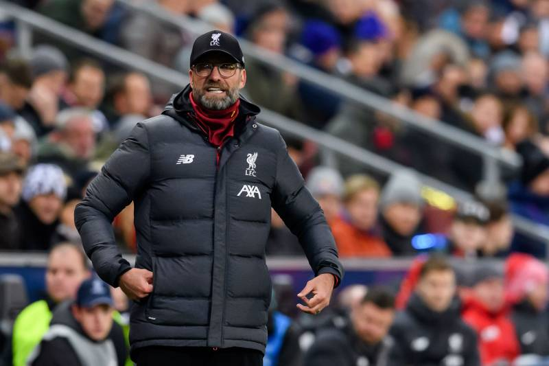 SALZBURG, AUSTRIA - DECEMBER 10: (BILD ZEITUNG OUT) head coach Juergen Klopp of FC Liverpool gestures during the UEFA Champions League group E match between RB Salzburg and Liverpool FC at Red Bull Arena on December 10, 2019 in Salzburg, Austria. (Photo by TF-Images/Getty Images)