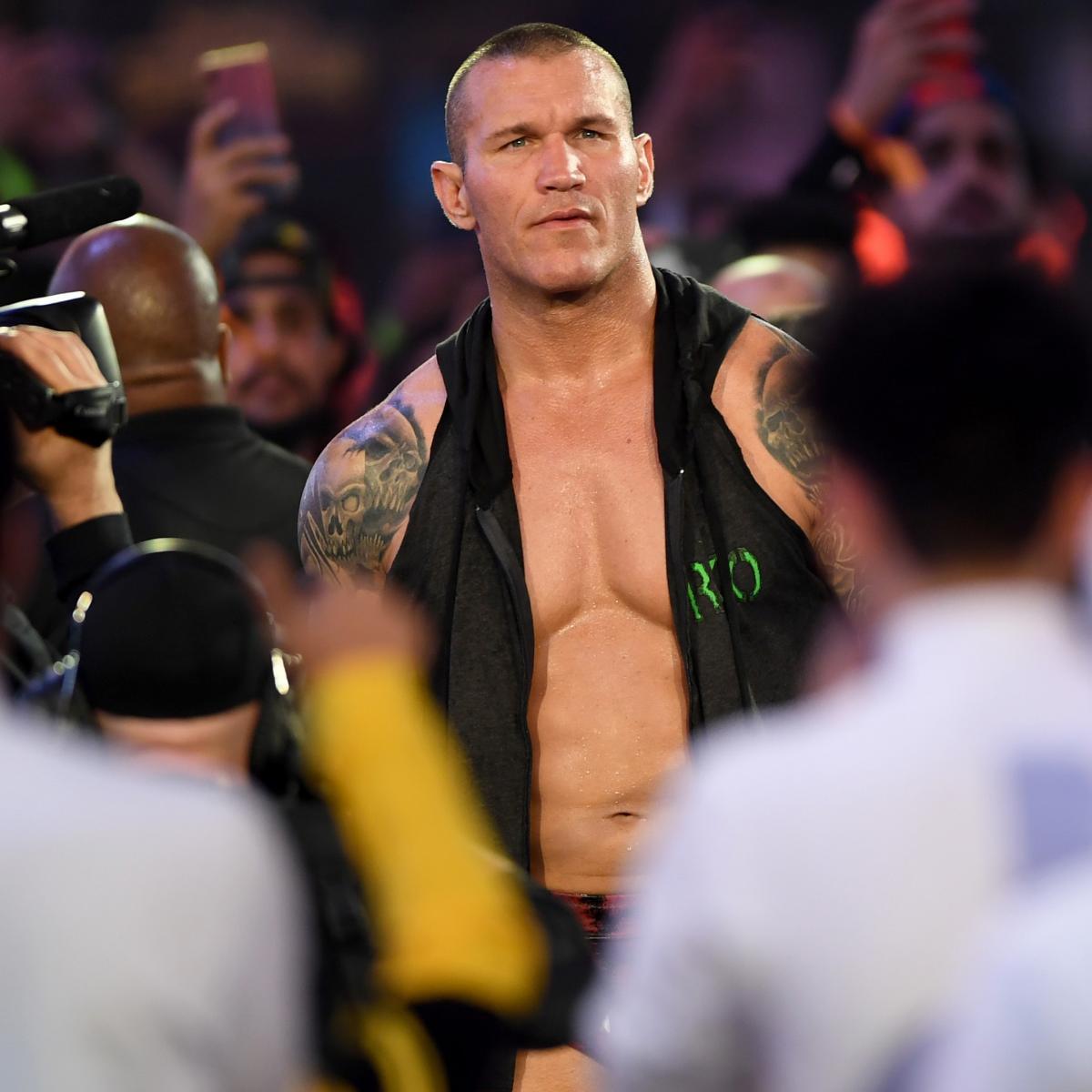 wrestler orton wwe gillingham randy