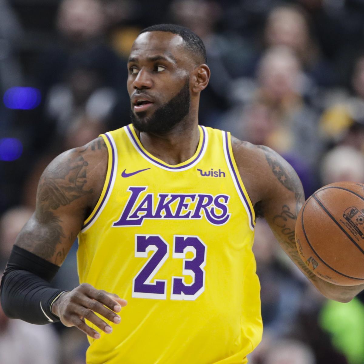 2020 Nba Championship Odds Lebron James Lakers Slight