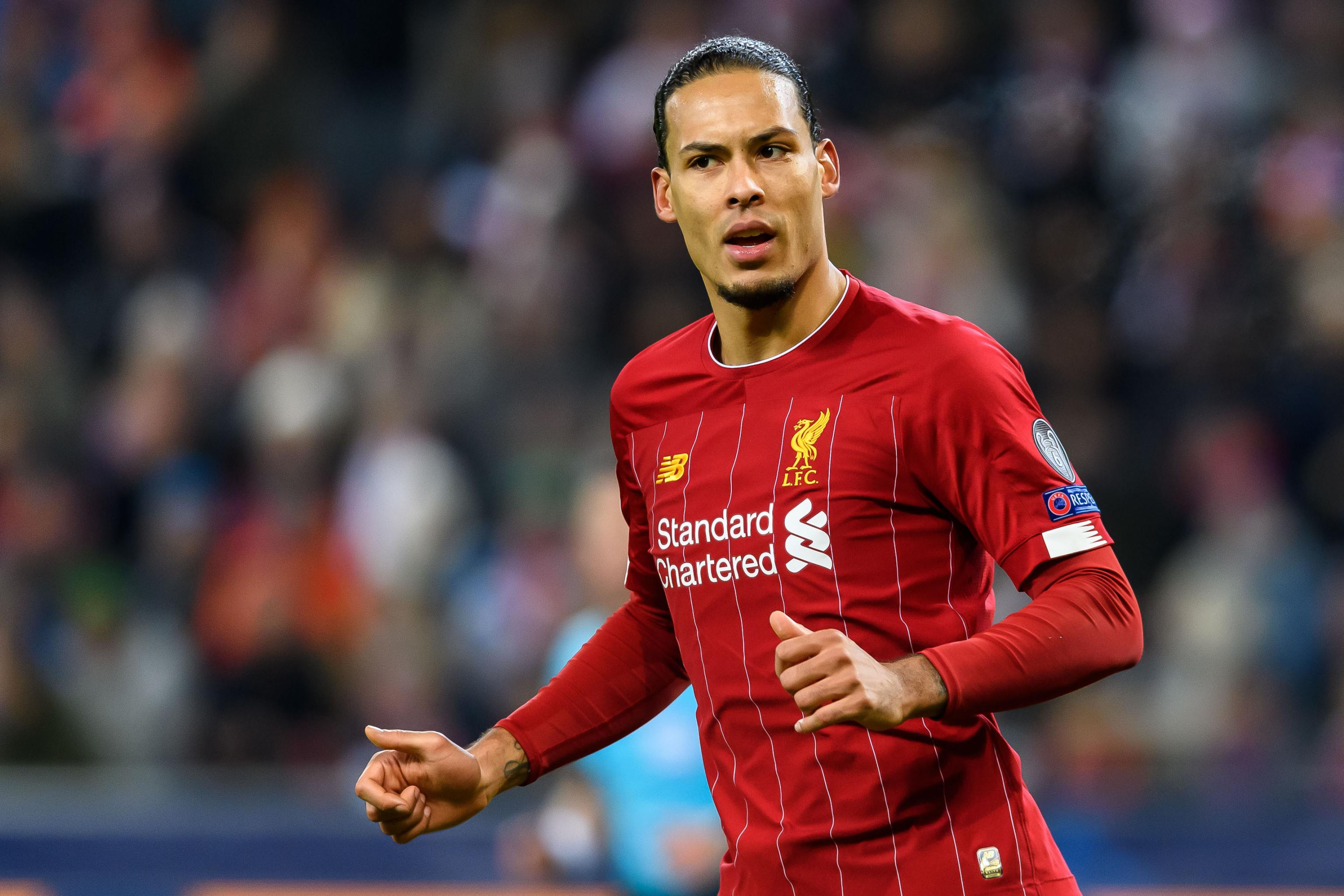 Virgil van Dijk Returns to Liverpool ...