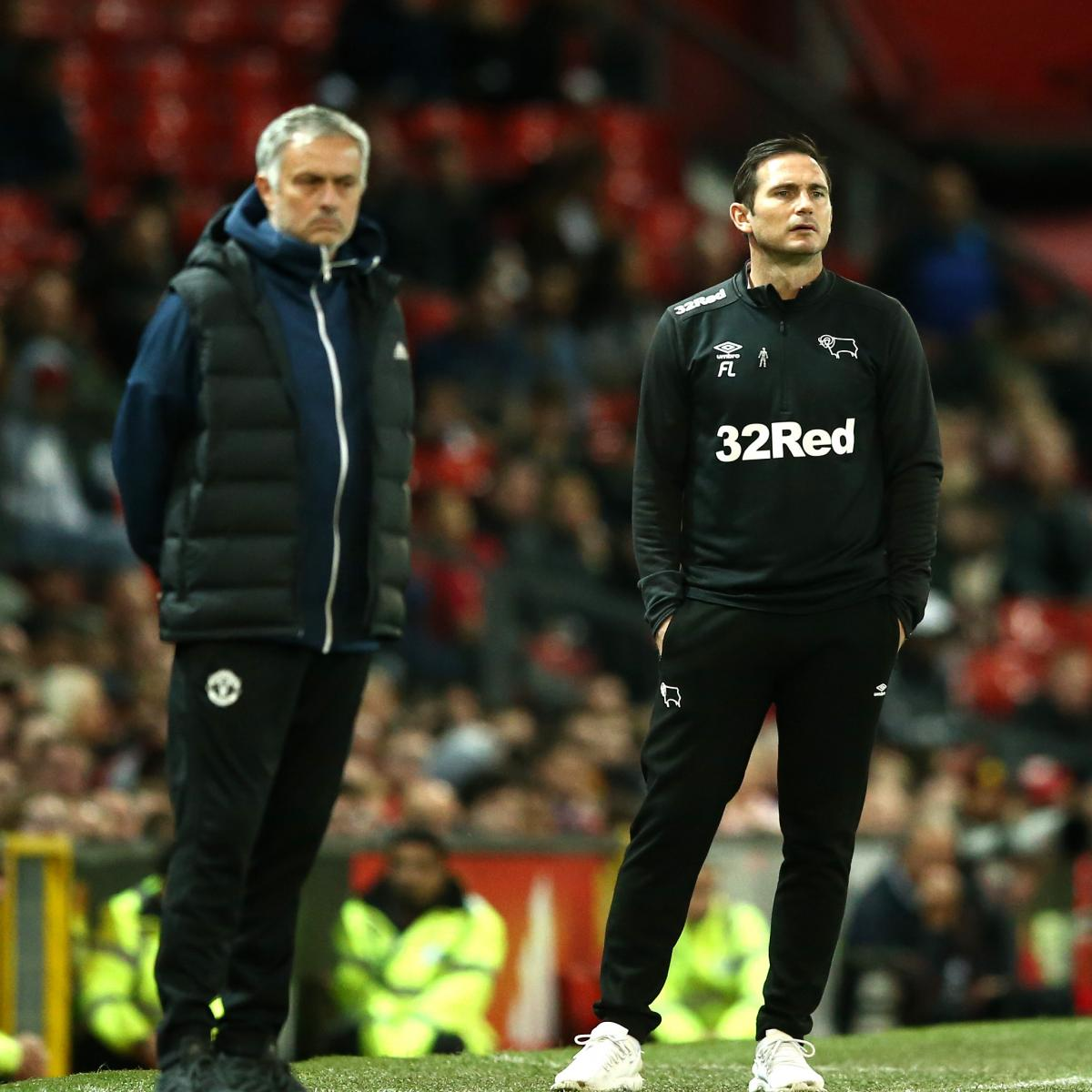 Frank Lampard: 'It Will Be Special' Facing Jose Mourinho ...