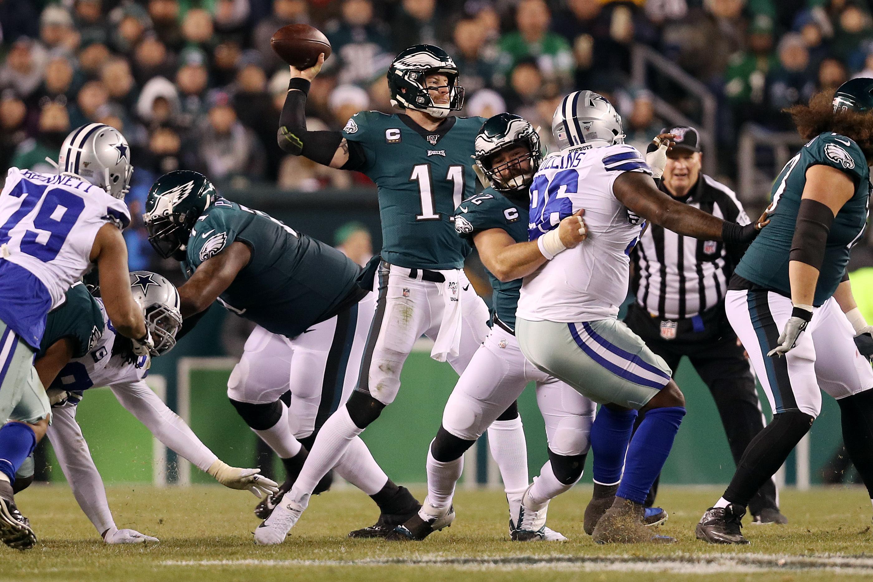 Carson Wentz, Eagles D Hold off Dak Prescott, Cowboys for Crucial NFC East  Win | Bleacher Report | Latest News, Videos and Highlights