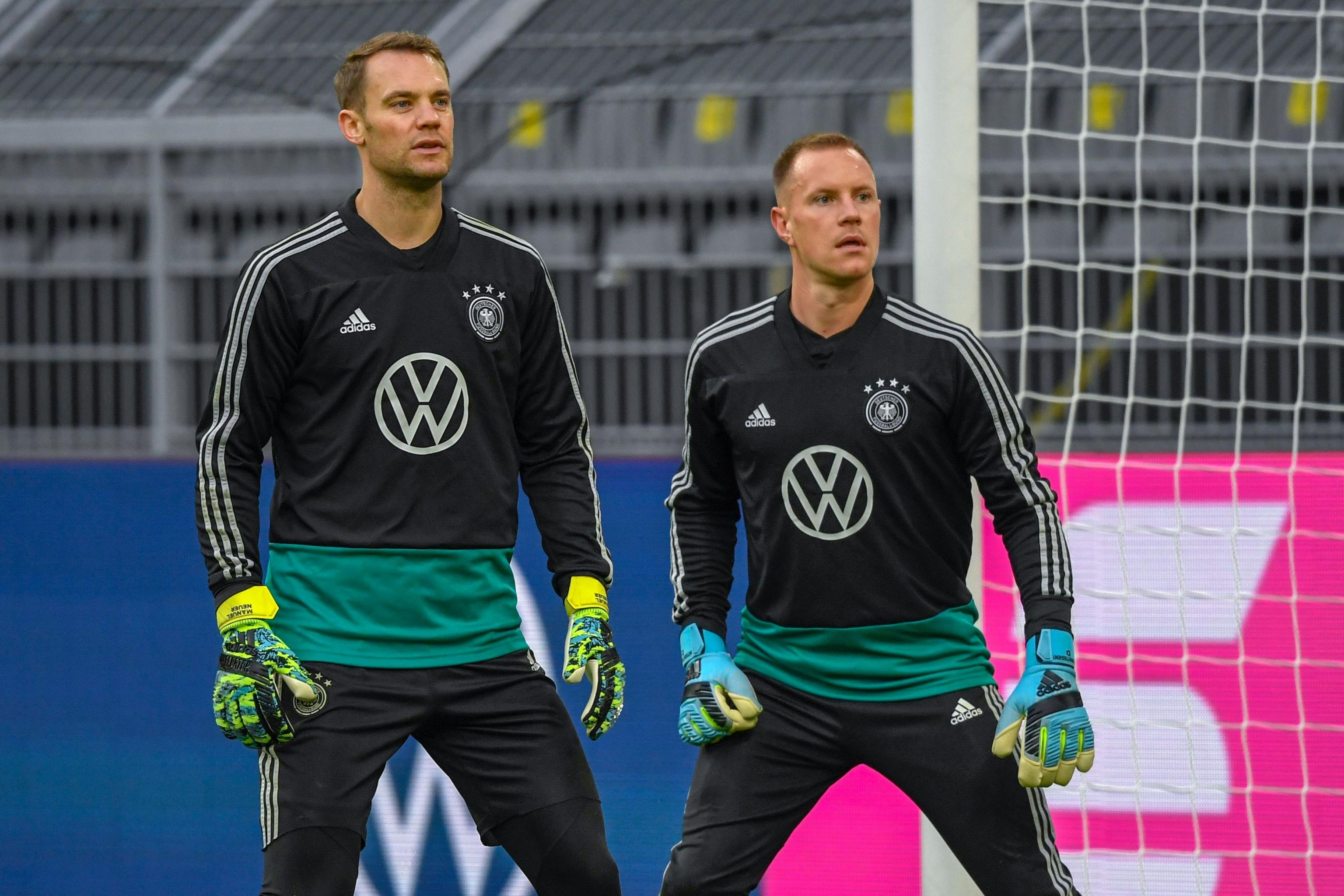Manuel Neuer Says He's 'Never Had a Problem' with Marc-Andre ter ...