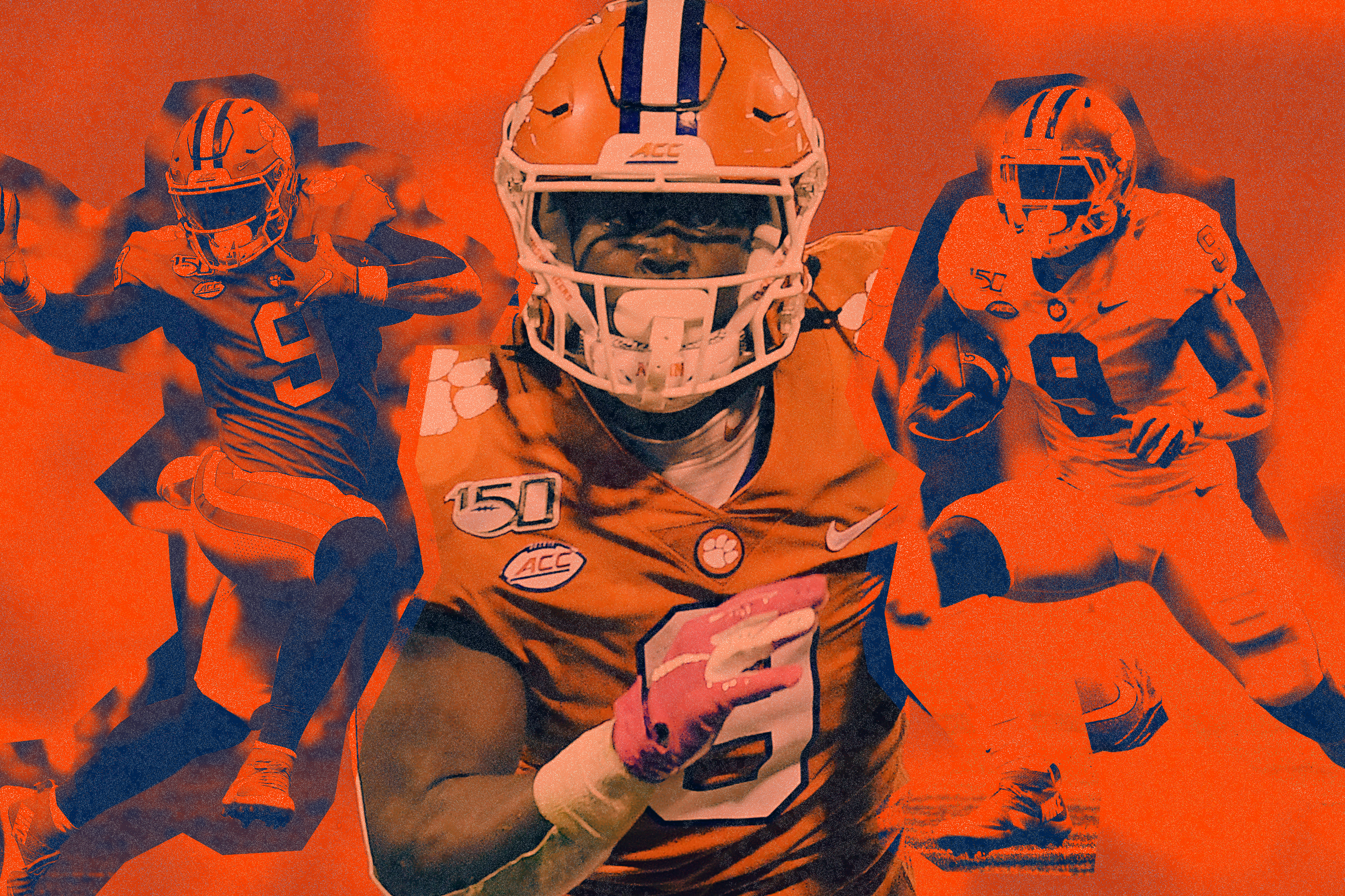 Travis Etienne Clemson S Forgotten Star Can Change The Game At Any Time Bleacher Report Latest News Videos And Highlights