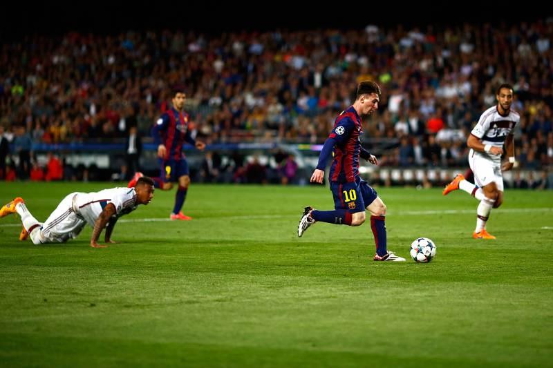 Bayern Munich, Barcelona, Messi, Champions League, Jerome Boateng