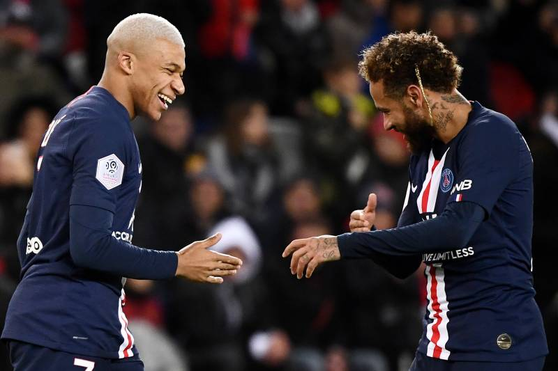 Kylian Mbappe Plays Down 'Supposed Rivalry' with Neymar at PSG ...