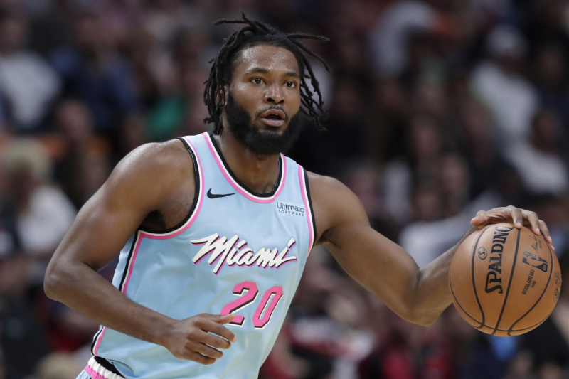 Heat's Justise Winslow to Be Reevaluated in 2 Weeks After Suffering Back Injury