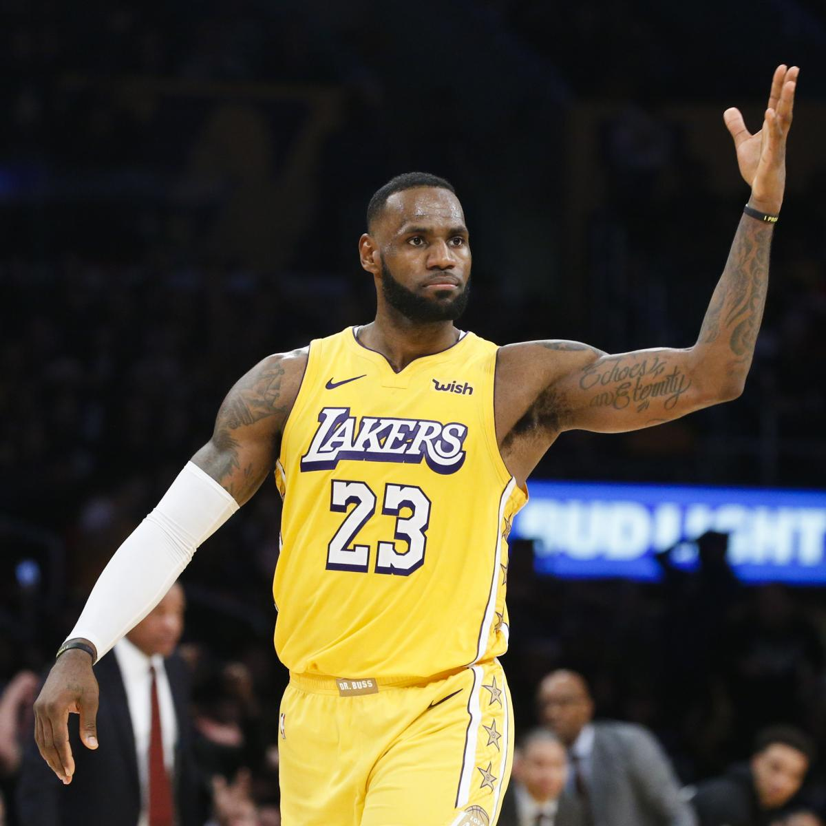 Lakers' LeBron James Reportedly Will Play vs. Trail ...