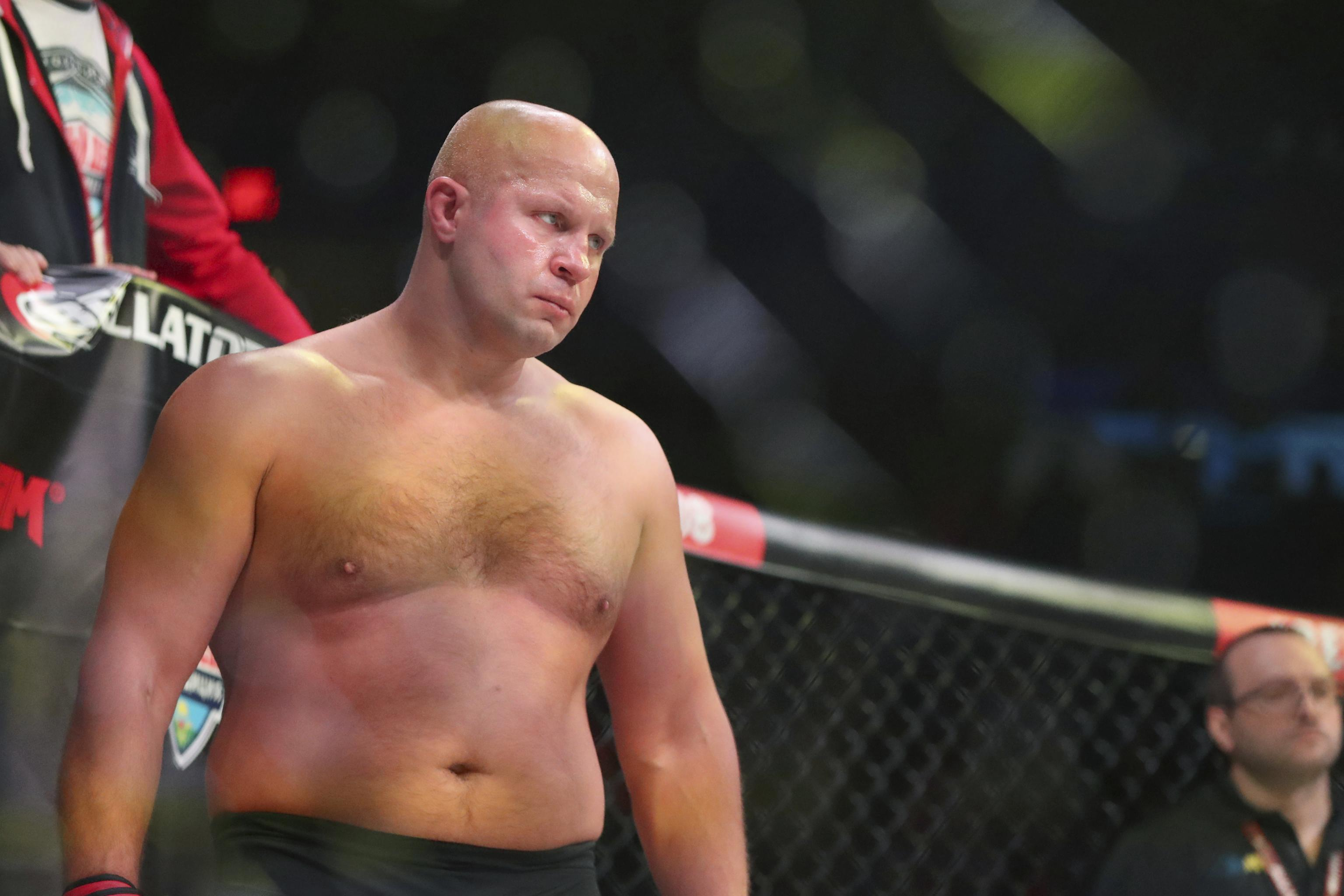 Fedor Emelianenko Knocks Out Rampage Jackson in 1st Round at Bellator 237 |  Bleacher Report | Latest News, Videos and Highlights