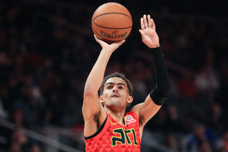 Report: Hawks' Trae Young Out vs. Nets Because of Hamstring Injury