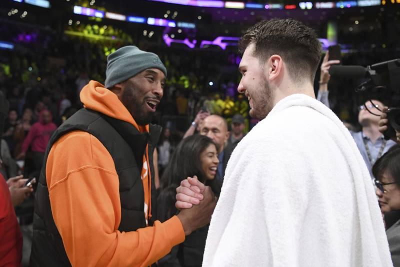 Mavs Luka Doncic Says Kobe Bryant Spoke To Him In Slovenian