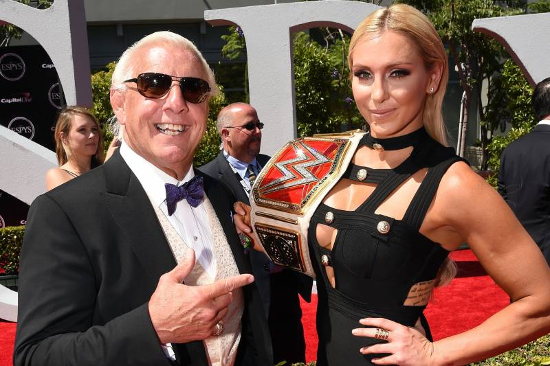 Ric Flair On Charlotte Andrade Engagement Rey Mysterio On