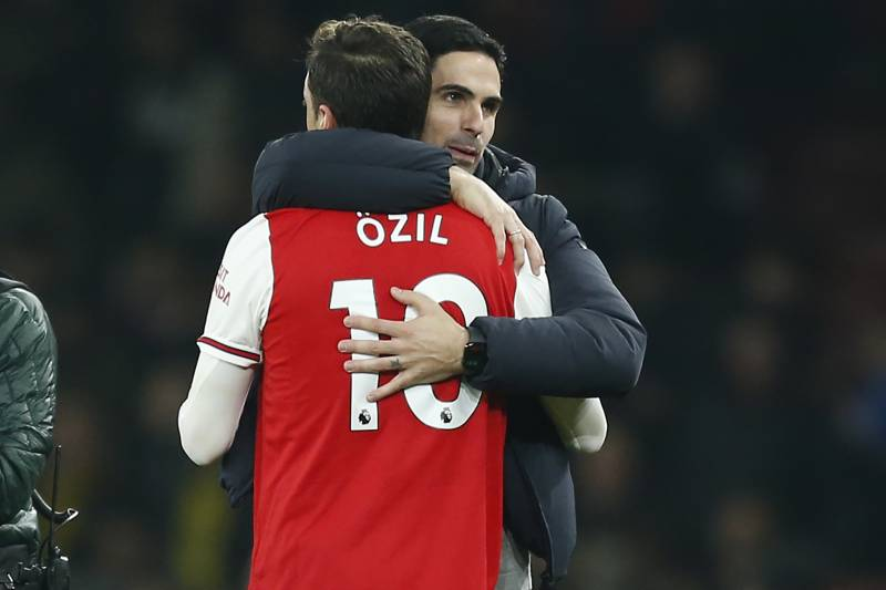 Image result for mesut ozil arteta