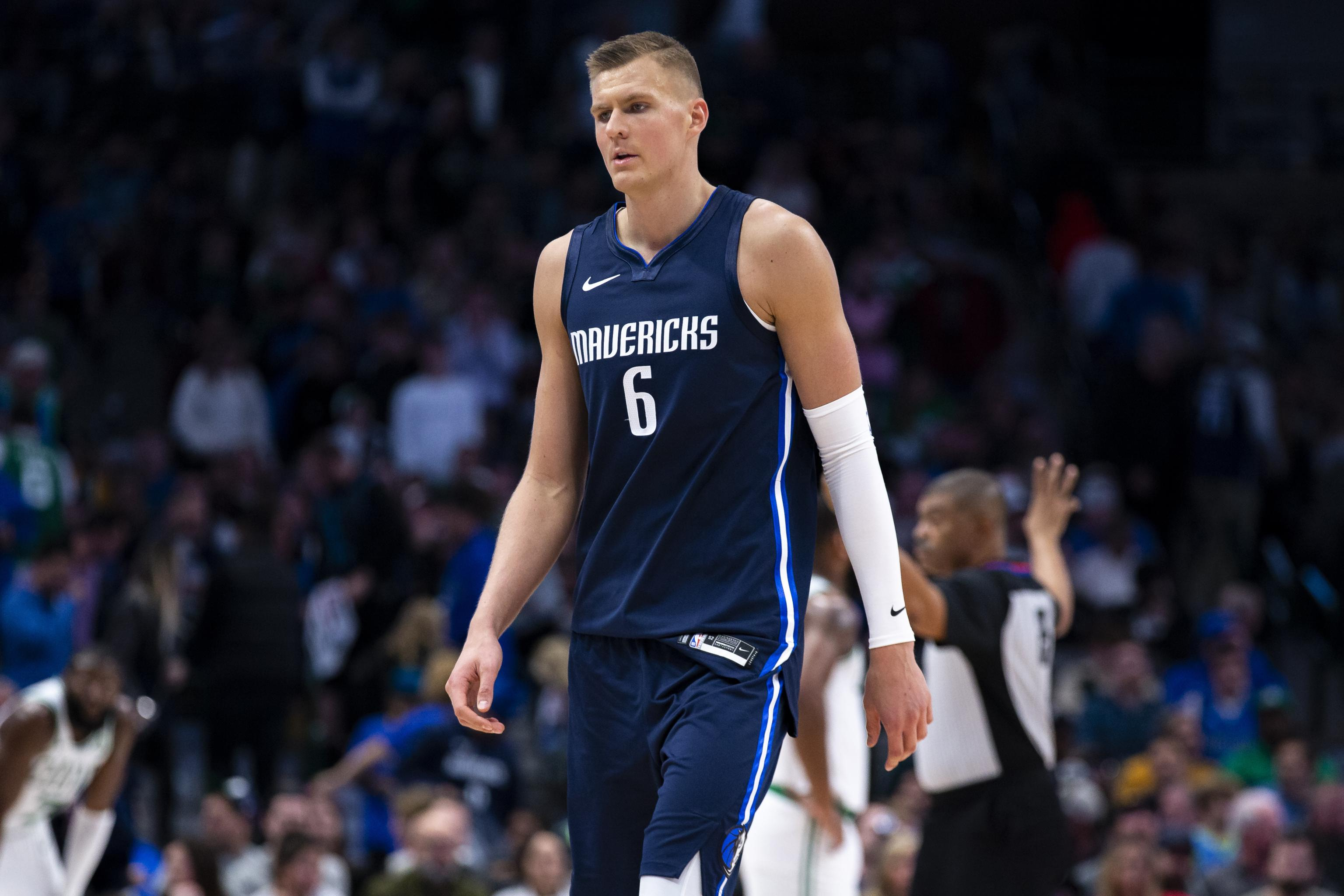 Mavs' Kristaps Porzingis Out Next 2 Games After PRP Injection for ...