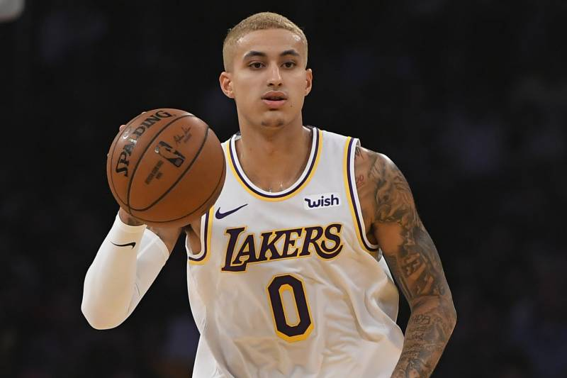 Image result for kyle kuzma blonde