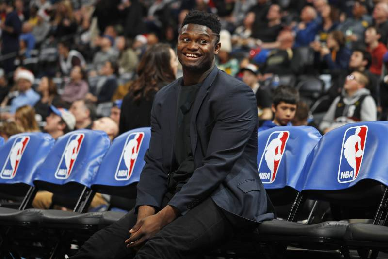Woj Zion Williamson Nearing Pelicans Debut Knee Is