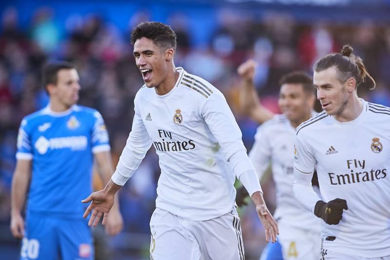 Raphael Varane Brace Leads Real Madrid To Easy 3 0 Win Vs Getafe
