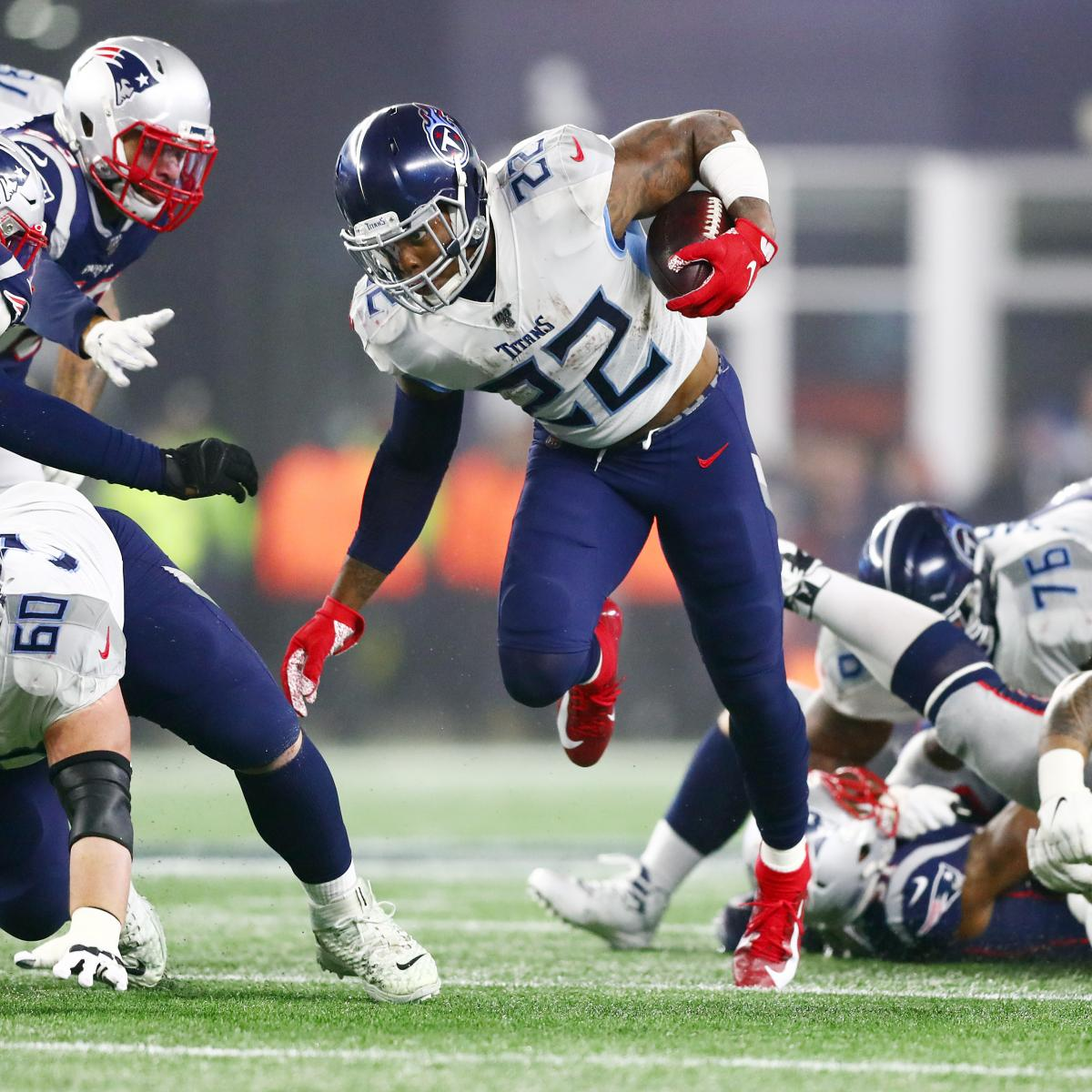Derrick Henry, Titans Stun Tom Brady, Patriots at...