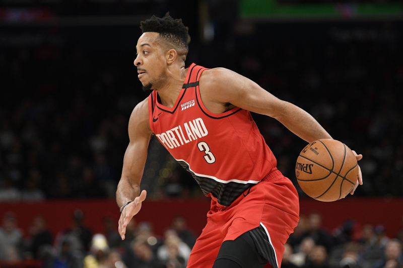 Trail Blazers' CJ McCollum Ruled Out vs. Mavericks After Suffering Ankle Injury