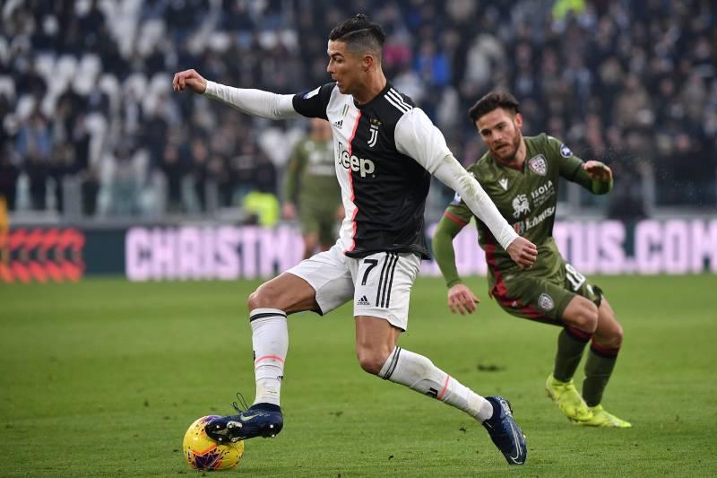 Cristiano Ronaldo S Hat Trick Leads Juventus To Win Vs Cagliari
