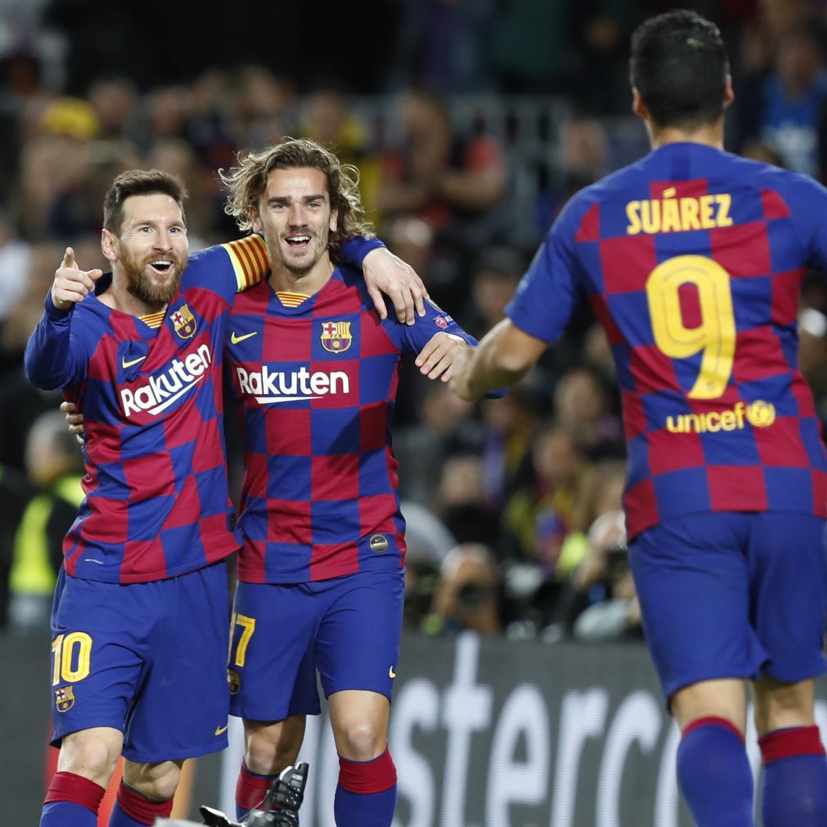 Barcelona vs. Atletico Madrid: 2020 Spanish Super Cup TV Schedule, Live Stream