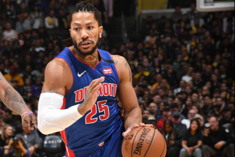 Report Pistons Derrick Rose Will Be In 2020 Nba All Star