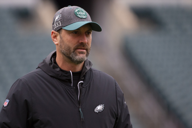 Eagles' OC Mike Groh, WR Coach Carson Walch Fired After Playoff Loss to Seahawks