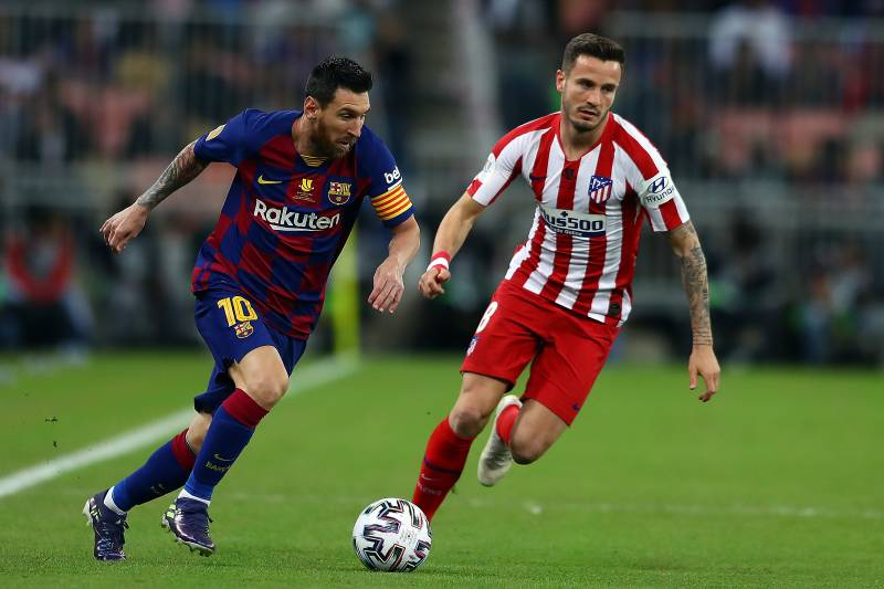 Atletico Shock Lionel Messi Barcelona Advance To 2020