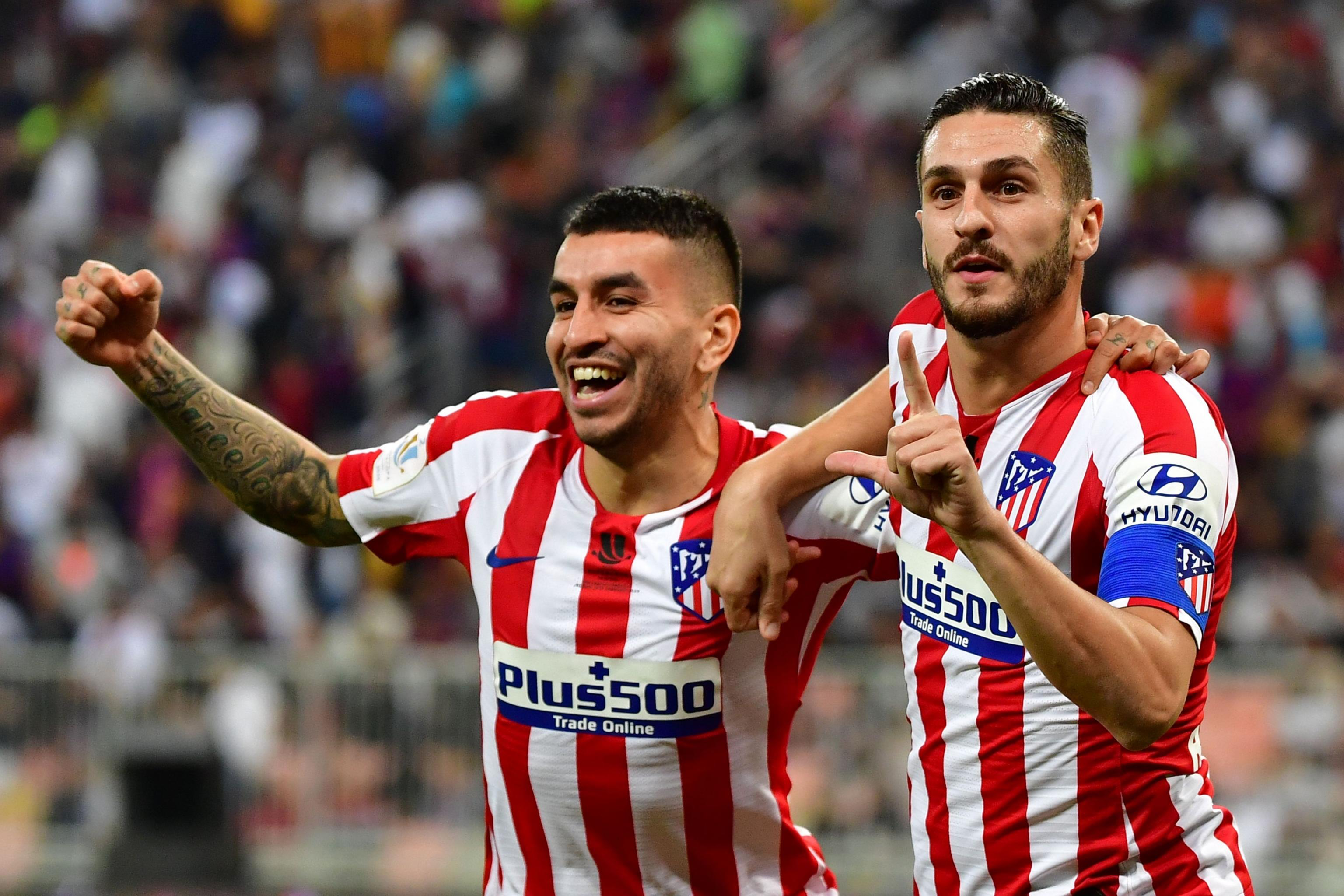 2020 Spanish Super Cup Final Real Madrid Vs Atletico Madrid