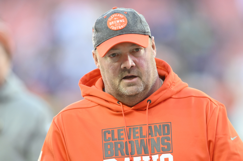 Report: Ex-Browns HC Freddie Kitchens Expected to Join Giants' Coaching Staff