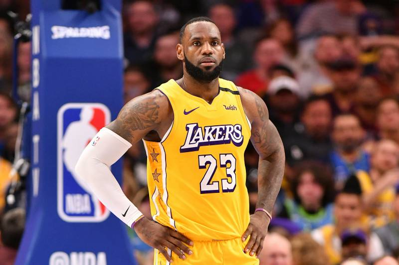 Lebron James Reminds Luka Doncic Nba He Still Wears The
