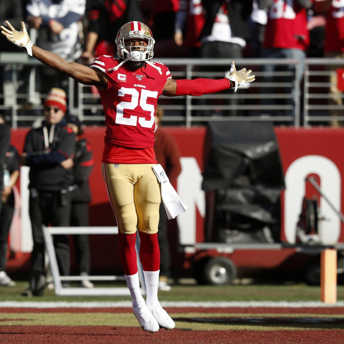 Richard Sherman Addresses Critics After 49ers' Win: 'In Big Games, I Show Up'