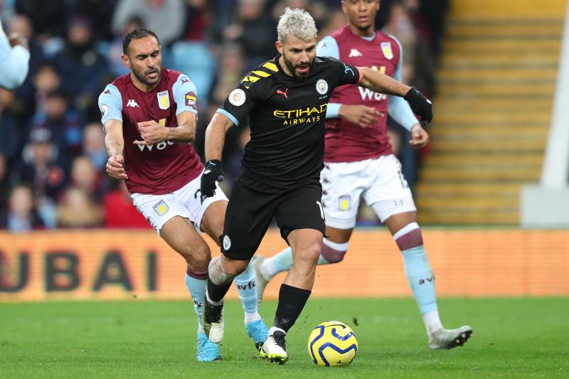 Sergio Aguero Breaks 2 EPL Records as Manchester City Crush Aston Villa 6-1