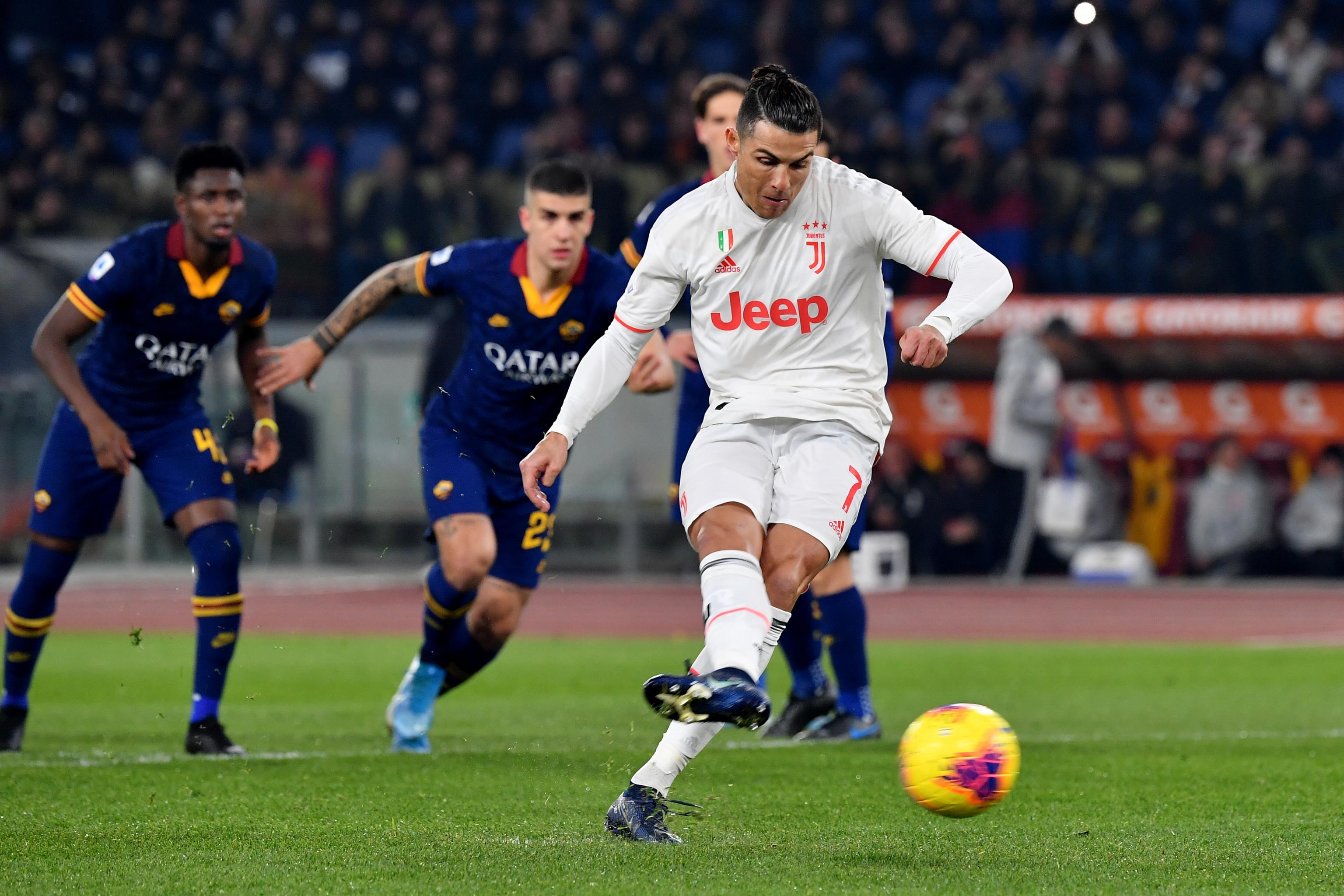 Cristiano Ronaldo Juventus Hold Off Roma For 2 1 Win In Serie A Bleacher Report Latest News Videos And Highlights